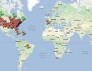 Map of Online Certificate Students